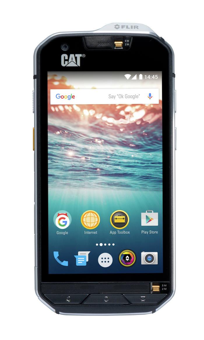 영국 블리트 그룹(Bullitt Group)이 제조한 CAT S60 러기드폰.