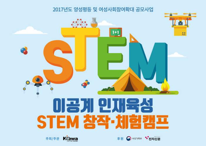 이공계 인재 양성, STEM 창작캠프 열린다