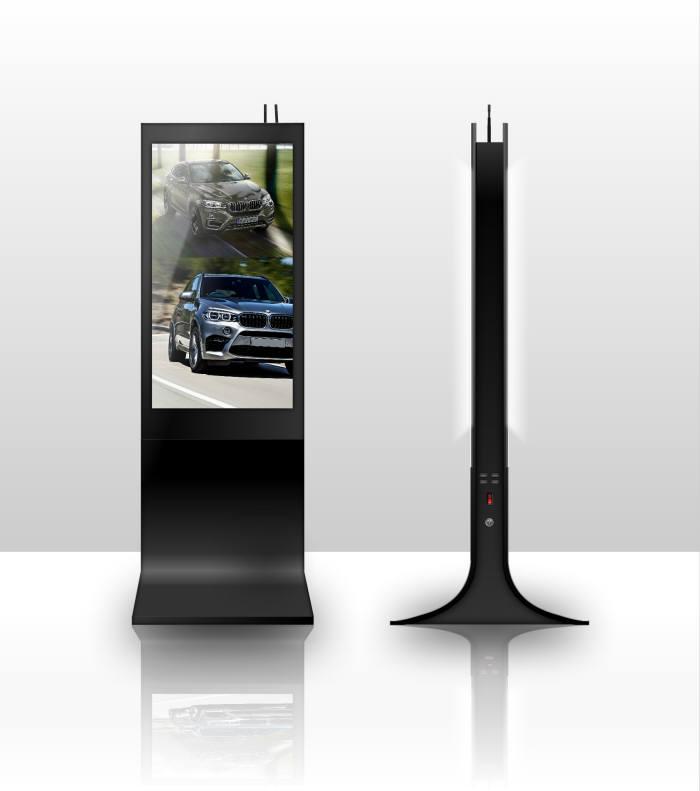 마이꿈의 42인치 무선 양면 디지털사이니지 '마이웨이'