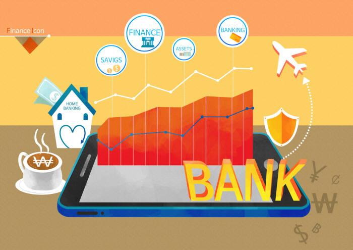 간편결제, 송금서비스분야에서 인터넷전문은행, 온라인자산관리서비스까지 핀테크 분야가 다양하게 확대되고 있다. ⓒ게티이미지뱅크