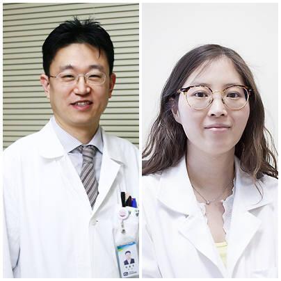 서울성모병원 유방암센터 채병주 교수(왼쪽), 유태경 교수
