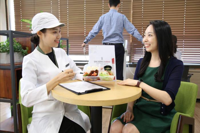 현대그린푸드, 이색 건강 특화 급식 서비스 '그리팅 라이트' 론칭