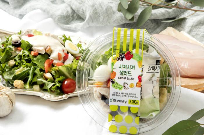 GS25, 다이어트족 증가에 '샐러드' 판매 폭풍성장