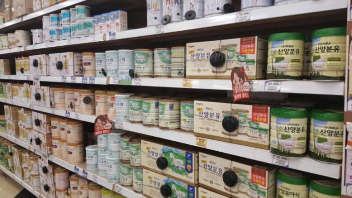 먹거리 불안감 증가에 안전한 '산양분유' 찾는 소비자 증가