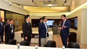 조환익 한전 사장, 권영수 LG유플러스 부회장과 4차 산업혁명 논의