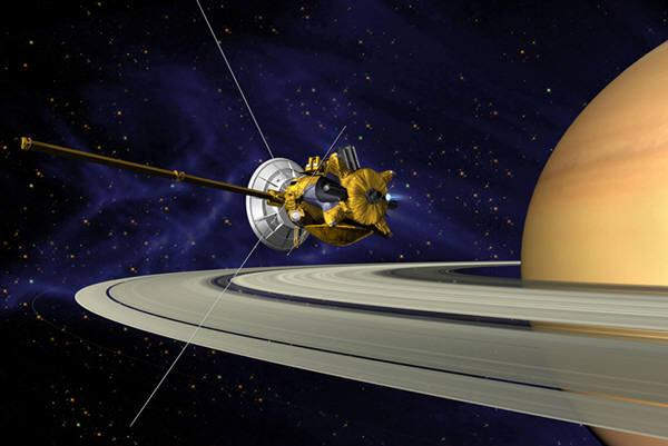 토성탐사선 카시니가 15일 최종 임무를 마치고 신호를 종결한다.
