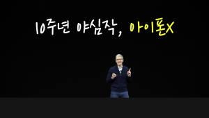 10주년 야심작, 아이폰X
