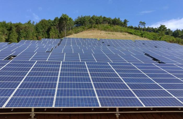 태양광발전소.