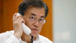"""文-트럼프 """"더 강력·실효적 北압박 강화""""…첫 UN 총회 기조연설서도 '북핵 대응' 초점"""