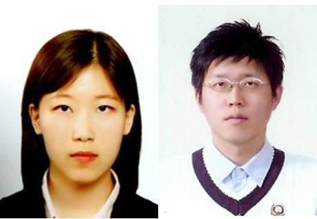 노준석 교수(오른쪽)와 김민경 통합과정 학생.