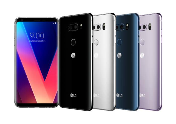 최근 LG전자가 'LG V3'를 공식 출시했다. 사진은 V30 제품 모습. 사진=LG전자