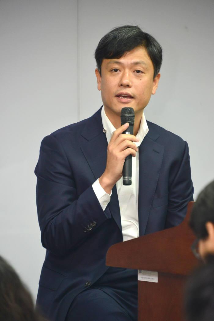 장병규 4차 산업혁명위원회 위원장.