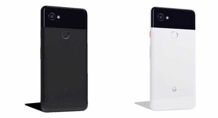 외신이 공개한 구글 픽셀2 시리즈 스마트폰 이미지.