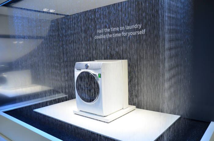IFA 2017에서 공개한 퀵드라이브 세탁기