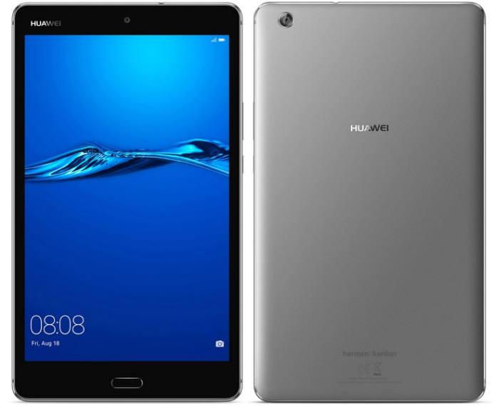 화웨이가 국내 출시하는 미디어패드 M3 라이트 태블릿.