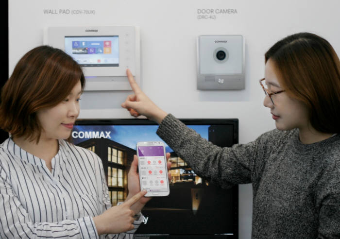 코맥스, 스마트홈 협력 체계 강화 '솔루션 다변화로 시장 대응'