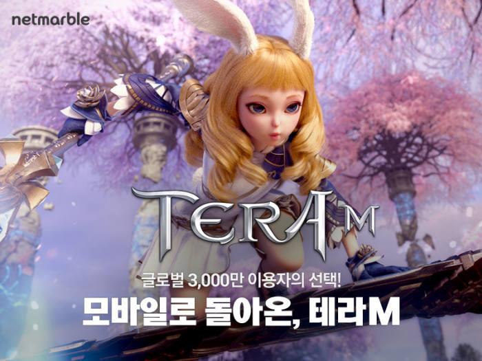 넷마블게임즈는 온라인게임 테라를 모바일게임으로 재해석한 테라M을 연내 국내에 출시할 계획이다.