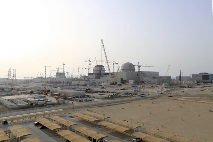 UAE 바라카 원전 현장 전경