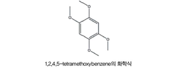 1,2,4,5-TMB 화학식