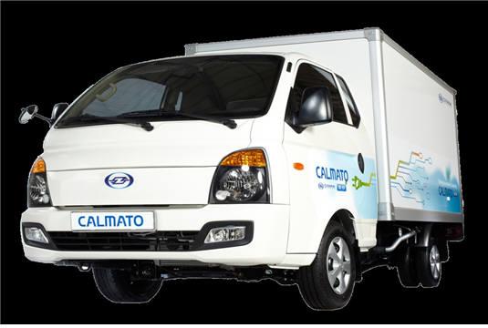 제인모터스가 개발해 양산에 들어갈 1톤 전기화물차 '칼마토'