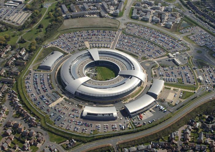 영국 정보기관 GCHQ.