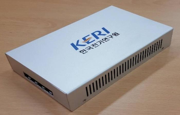 KERI의 '스마트변전소 통신 프로세스버스 네트워크 구축 장비'