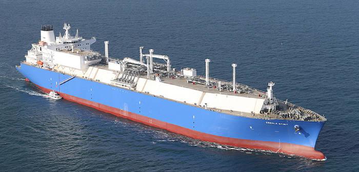 대우조선해양 LNG선/ 자료: 대우조선해양 홈페이지 화면 캡처