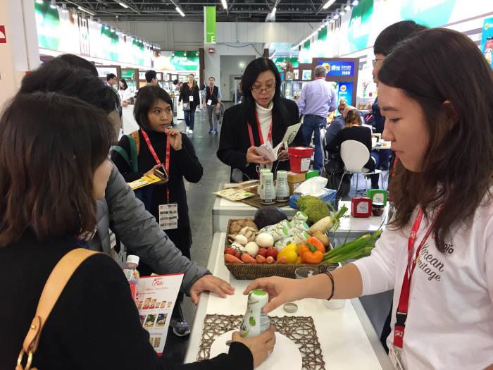 샘표, 국제 식품전 '아누가 2017' 참가