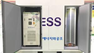 에너지공단, 전력저장장치(ESS) 고효율인증 첫 발급
