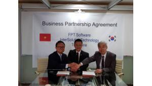 인터솔루션테크놀로지, 투톤-FPT소프트웨어와 파트너십 협약 체결