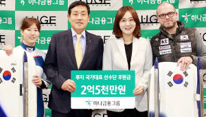 {htmlspecialchars(김정태 하나금융그룹 회장, 평창 루지 국가대표선수단 격려 방문)}