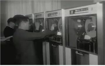 정부 최초 도입한 행정업무용 컴퓨터 IBM 1401.