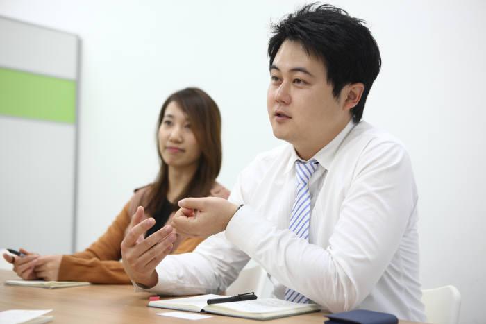권오현 해줌 대표(오른쪽)