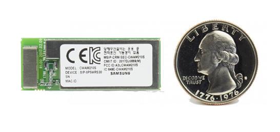와이파이를 지원하는 삼성전자 IoT 플랫폼 '아틱 053'. 삼성전자는 후속 버전인 '아틱 051'을 추가 출시할 예정이다.
