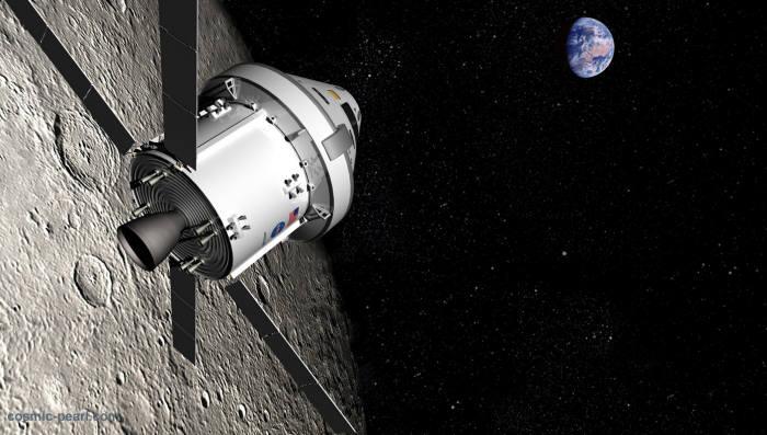 사진2. 2019년 미국은 심우주 탐사선 오리온으로 달을 다시 방문하게 된다. 최근 트럼프 행정부는 우주에서의 주도권을 잡기 위해 달 착륙을 다시 모색하고 있다. 출처:NASA