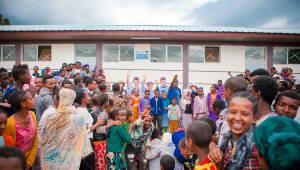 대성에너지, 에티오피아에 초등학교 지어줬다