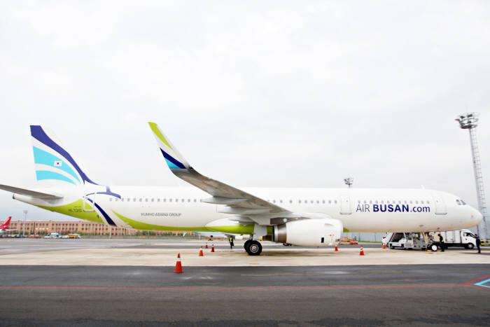 에어부산 A321-200 항공기 (제공=에어부산)