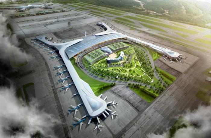 인천국제공항 제2여객터미널 조감도 (사진=인천국제공항공사)