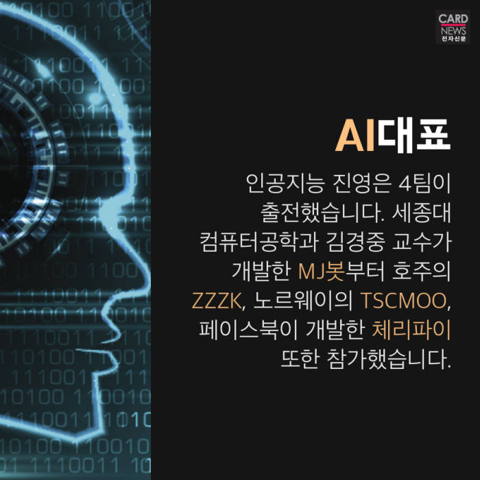 [카드뉴스]인간 vs AI, 이번엔 스타크래프트