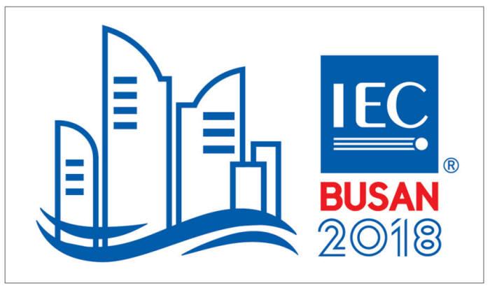 내년 열리는 IEC 부산총회 로고.
