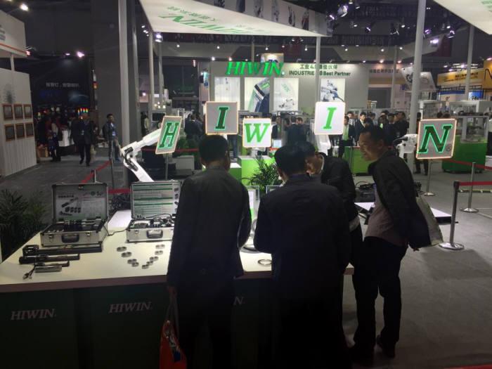 중국 국제공업박람회 내부 전경