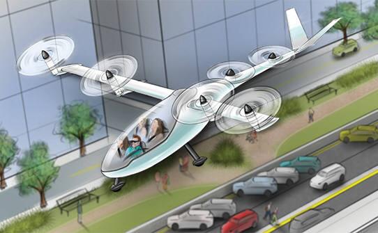 나사-우버 손잡고 '나는 택시' 만든다…2020년 첫선