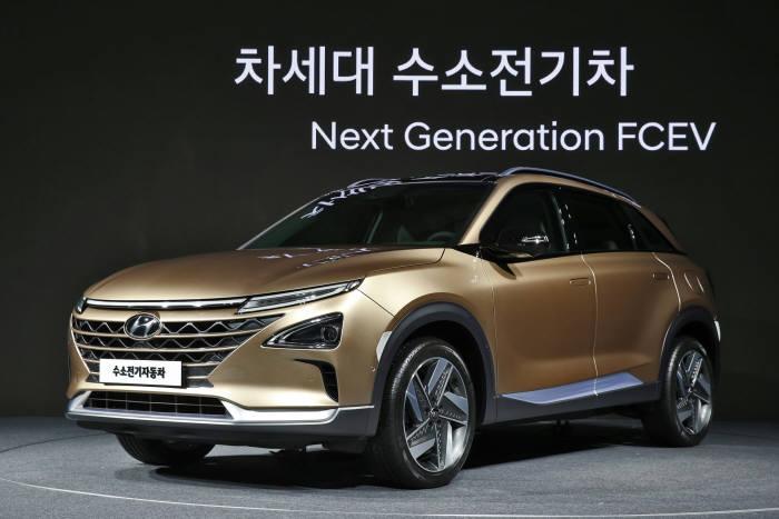 현대차가 내년 시판할 '차세대 수소전기차'.