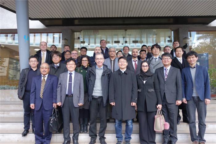 OECD-ATLAS 2차 프로젝트 착수회의 참석자 단체사진