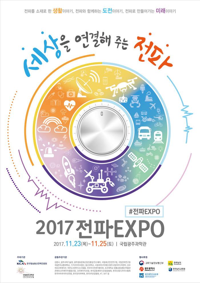 국립광주과학관은 23일부터 25일까지 '세상을 연결해 주는 전파'를 주제로 '2017 전파 엑스포'를 개최한다.