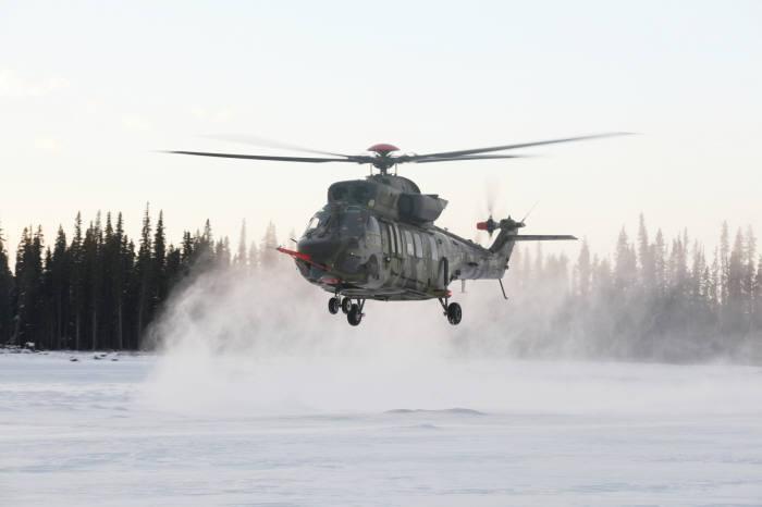 알래스카에서 저온시험중인 한국항공우주산업 헬기 '수리온' (제공=한국항공우주산업)