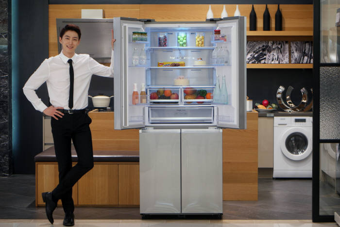 삼성 슬림 T-타입 냉장고