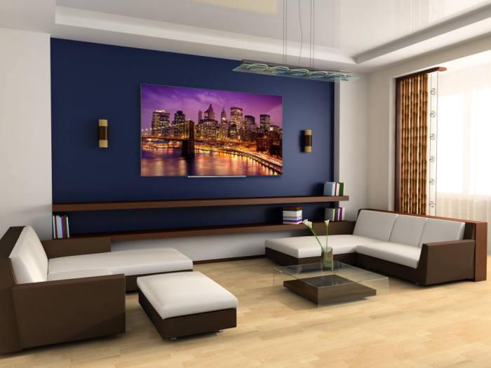 도시바가 IFA 2017에서 공개한 OLED TV.