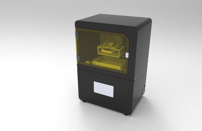 캐리마가 최근 일본으로 수출한 3D프린터 ML-200.