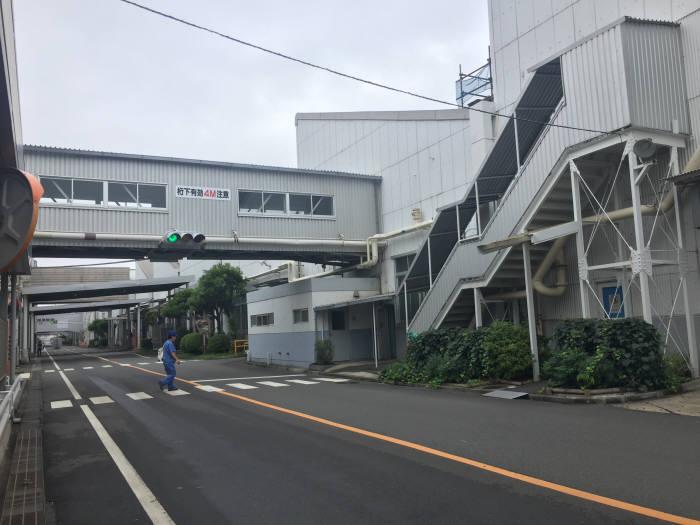 일본 요코스카에 위치한 닛산 오파마 생산 공장.